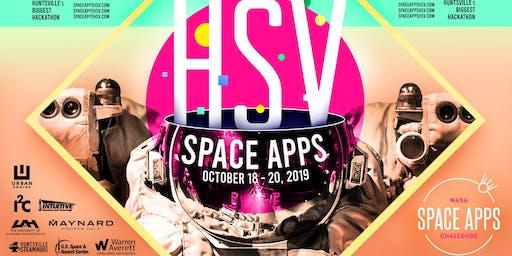 NASA Space Apps Challenge Huntsville Kick-off Day