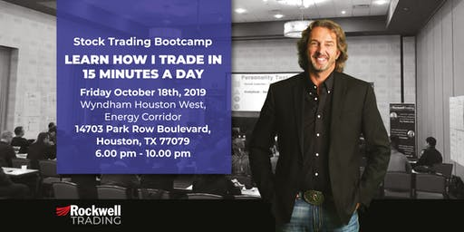 Rockwell Stock Trading Bootcamp - HOUSTON, October 18th