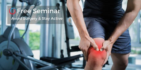 Alternatives to Surgery: Reduce Pain & Stay Active - Sept 21 tickets