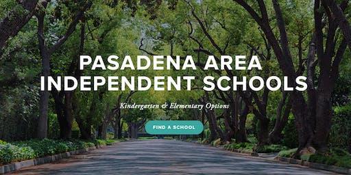Kindergarten & Elementary Options Night - Pasadena Area Independent Schools