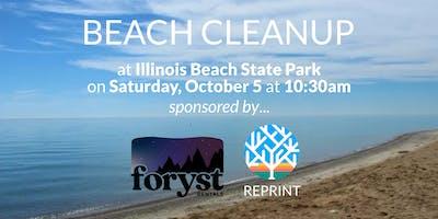 Volunteer Park Clean Up - Illinois Beach State Park