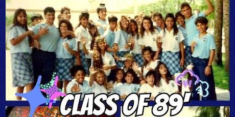 Class of 89' ICS 30 yr REUNION tickets