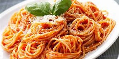 Spaghetti dinner to support the Eddy House, All you can eat for $10 tickets
