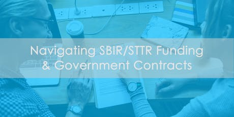 Navigating SBIR/STTR Funding & Government Contracts tickets