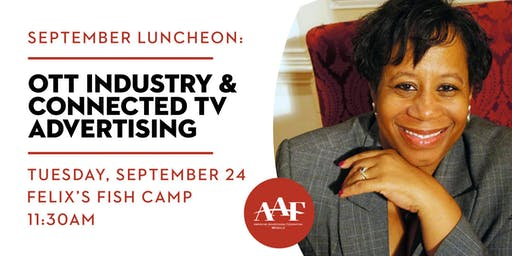 September Luncheon: OTT Industry with Sherry Armotrading