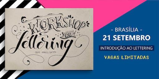 Workshop de Lettering em Brasília -  Rakell Simon