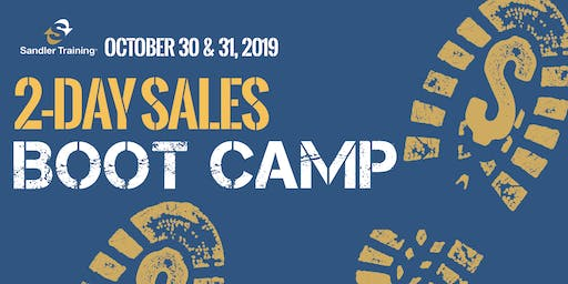 October 2 Day Sales Bootcamp