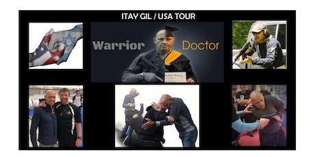 "Grand Master ""ITAY GIL""  Israeli Krav Maga U.S. Tour (TEXAS) tickets"