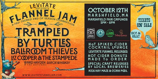 Levitate Flannel Jam on 10.12.19 - MARSHFIELD, MA