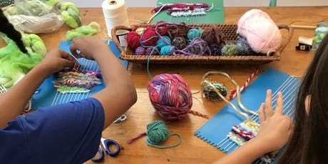 Tapestry Weaving for Kids tickets