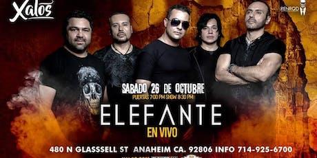 Elefante en Anaheim tickets