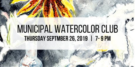 Municipal Watercolor Club tickets