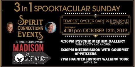 3 in 1 Spooktacular Sunday-Psychic Medium Gallery, tickets