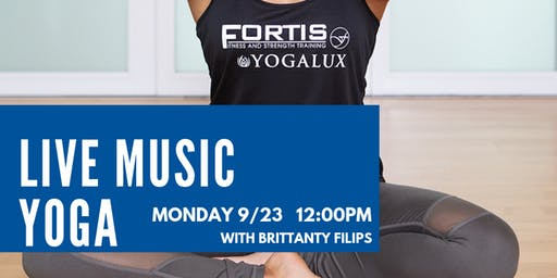 FREE Live Music Yoga Flow