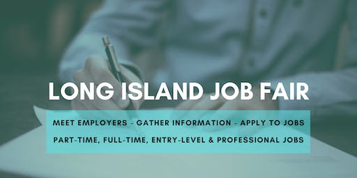 Long Island Job Fair - October 15, 2019 Job Fairs & Hiring Events in Long Island, NY