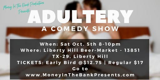 Money In The Bank Presents: Adultery