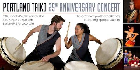 Portland Taiko's 25th Anniversary Concert tickets