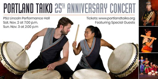 Portland Taiko's 25th Anniversary Concert
