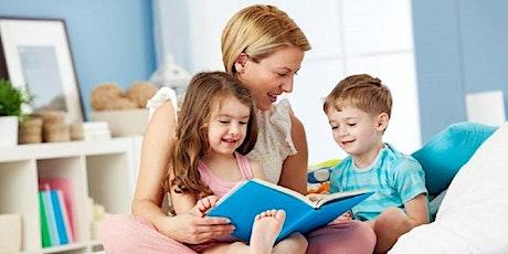 5° - Leggere con i bambini piccoli (0-5 anni) - Essere genitori un'arte imperfetta 2019-20 biglietti