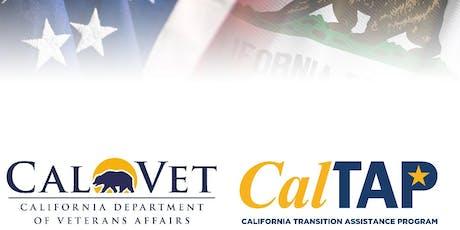 California Transition Assistance Program - MCAS Miramar tickets