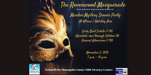 The Ravenwood Masquerade: Murder Mystery Dinner Party
