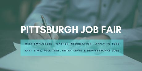 Pittsburgh Job Fair - October 8, 2019 Job Fairs & Hiring Events in Pittsburgh PA tickets