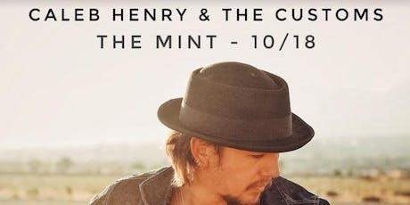 Caleb Henry & The Customs, Hey King!, Elijah Wells tickets