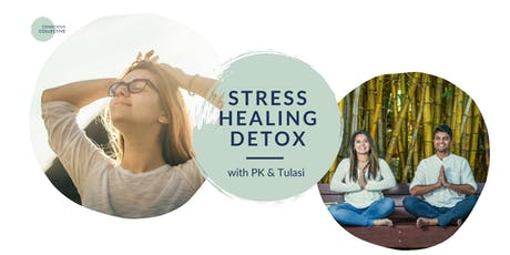 Stress Healing Detox: Experiential Cleanse + Vegan Lunch tickets