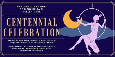 Alpha Iota Centennial tickets