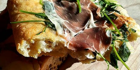 Italian Cooking Class: Focaccia & Roman Pizza - Paid Event $95 tickets