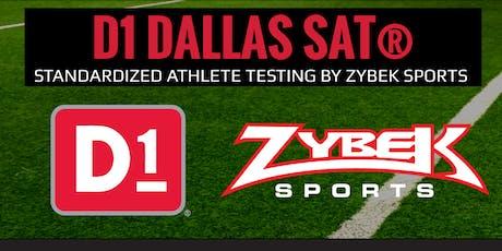 D1 Dallas SAT w/ Zybek Sports tickets