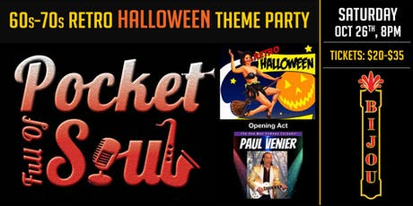 Pocket Full of Soul - Halloween Party tickets