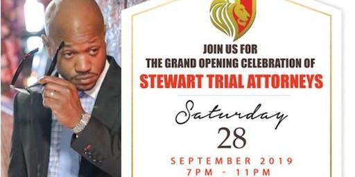 Stewart Trial Attorneys Grand Opening