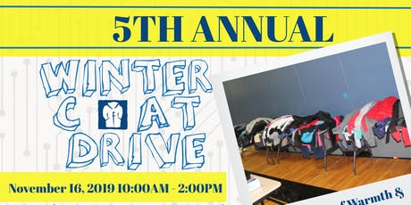 Geek Plus presents The 5th Annual Winter Coat Drive tickets