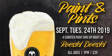 Paint & Pints with Roeski Doeski tickets