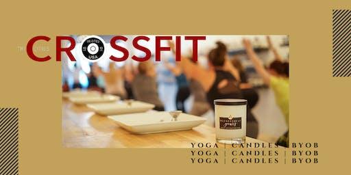 Candles & Vinyasa Yoga