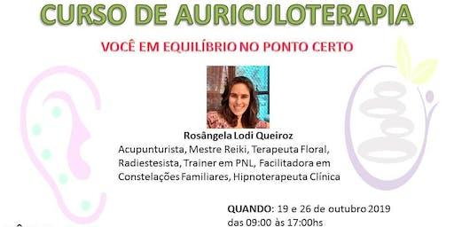 Curso de Auriculoterapia: você em equilíbrio no ponto certo