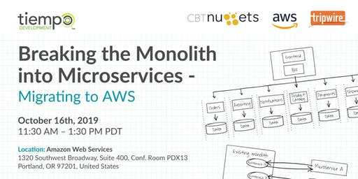 Breaking the Monolith into Microservices - Migrating to AWS