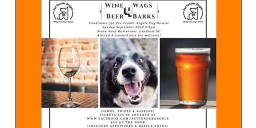 Wine 4 Wags, Beer 4 Barks