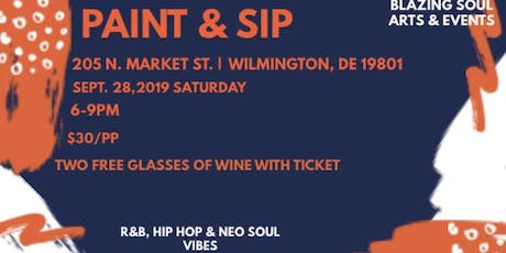 Paint & Sip: For the Culture Edition! tickets
