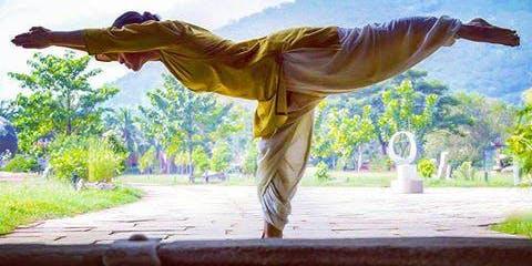 Angamardana, Isha Hatha Yoga