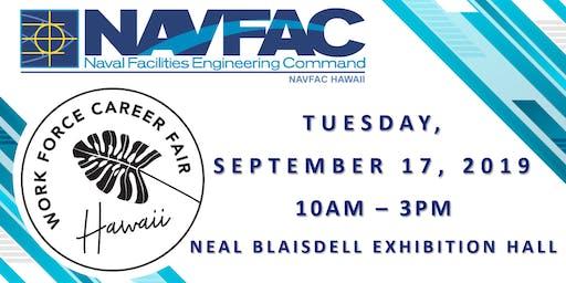 NAVFAC Hawaii @ WorkForce Career Fair (September 17, 2019)