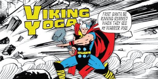 Viking Yoga!