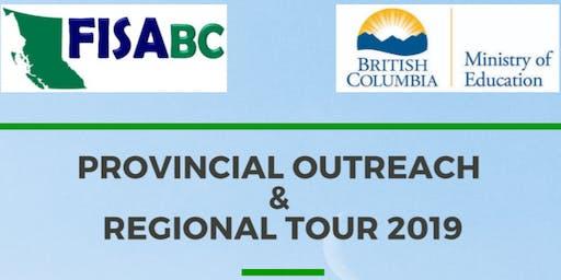 REGIONAL TOUR 2019 - Evening Info Session  (PG)