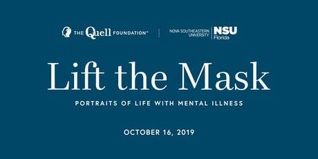 """""""Lift the Mask - Portraits of Life with Mental Illness"""" Documentary Screening at NSU tickets"""