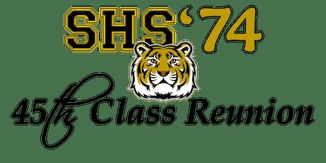 Swainsboro High School Class of 1974 45th Reunion tickets