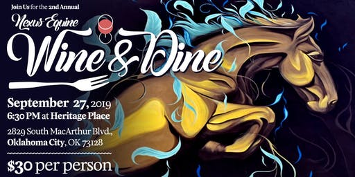 Nexus Equine's 2nd Annual Wine & Dine