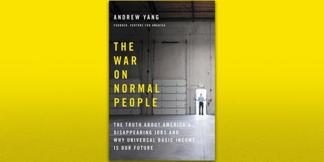 Book Club Brunch - The War on Normal People by Andrew Yang tickets