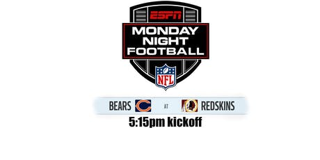 Monday Night Football: CHI @ WAS - 5:15pm tickets