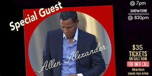 Surface w/ Special Guest Allen Alexander